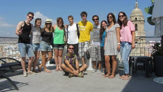 Friends in Málaga